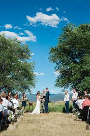 backyard colorado summer wedding