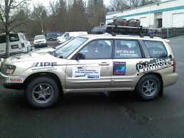 2004 subaru forester lifted primitive racing dirty cones and checkpoints