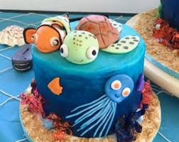 nemo cake toppers beautiful edible cake toppers etsy edible cake topper etsy 2018