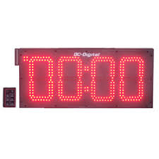 large outdoor digital timers clocks waterproof location sun