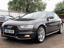 used 2013 audi a4 2 0 tfsi quattro s line 4dr saloon manual petrol