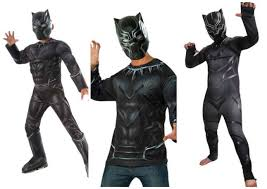 black suit halloween chadwick boseman black panther costume diy guide