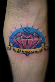 30 attractive diamond tattoos creativefan