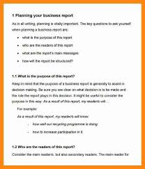 10 format of a business report graphic resume