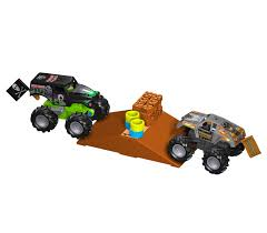 grave digger toy monster truck knex monster jam by jeremy luettgen at coroflot com