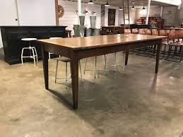 antique dining table 2 25m in sold vitrine