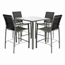 5 Piece Patio Bar Set by Taiwan Aluminum Patio Furniture Cable Beach Available In 5 Piece