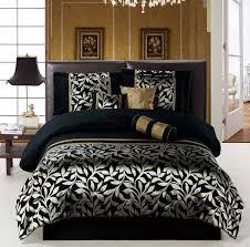 Gold And Black Comforter Set 11 Piece Queen Size Bedding Royal Gold Black Comforter Set Bed In