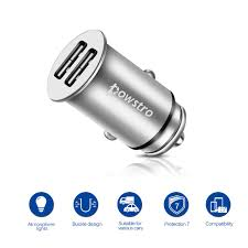 phone charger online shop powstro universal dual usb car charger 5v 4 8a mini