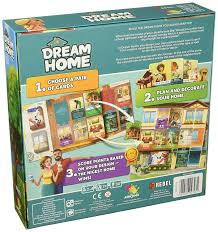 amazon com dream home game board game toys u0026 games