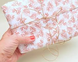 floral gift wrapping paper gift wrapping paper etsy studio
