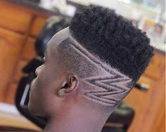 black male haircuts with zig zags multiple cuts with a thin layer of hairs black men hairstyles