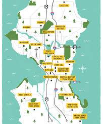 Seattle Maps Illustrated Maps U2014 Kat Marshello
