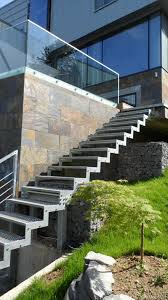 outdoor staircase design home design awesome zinc house outside view metal outdoor
