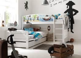 Solid Wood Bunk Beds Uk Lifetime Pirate Corner Solid Wood Bunk Bed Head2bed Uk