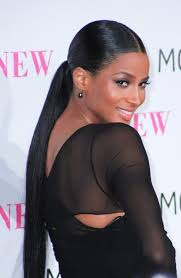 part down the middle hair style easy updos ponytail black girls and sleek ponytail