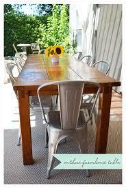 Farmhouse Patio Table by Diy Farmhouse Table Farmhouse Table