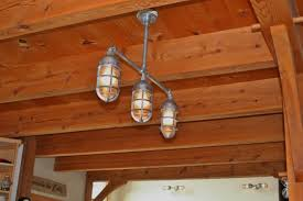 rustic industrial pendant lighting rustic industrial lighting gives nod to steunk nautical blog