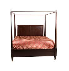 bassett furniture king sized four poster bed frame ebth