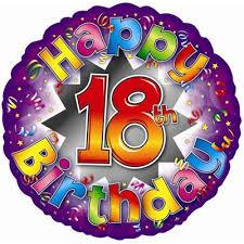 balloons for 18th birthday 18th birthday balloons writtle road nursery the secret garden