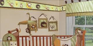 Boy Monkey Crib Bedding Monkey Crib Bedding Set Home Inspirations Design Ideas