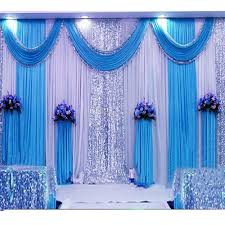 2018 3 6m sequin wedding backdrop curtain with swag backdrop