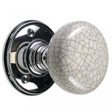 mortice glass door knobs mortice door knobs porcelain u0026 blue crackle polished chrome rose