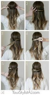 Einfache Elegante Frisuren F Lange Haare by Einfache Und Elegante Frisur Für Lange Haare Foto Veröffentlicht