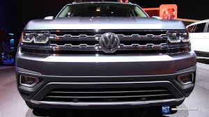 2018 volkswagen atlas interior 2018 volkswagen atlas sel v6 4motion exterior and interior