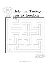 thanksgiving maze turkey freedom png