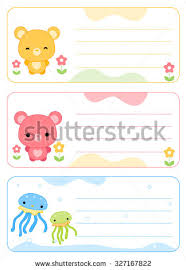 printable name tags printable name tags name cards stock illustration 327167822