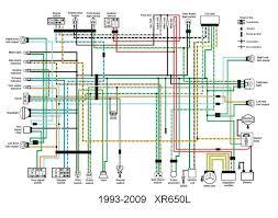 honda xr650l wiring diagram honda wiring diagrams instruction