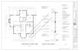 Floor Plan Blueprint House Plans New Construction Home Floor Plan Greenwood For 3040