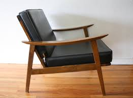 Mid Century Leather Chairs Mid Century Modern Arm Lounge Chair Picked Vintage Pinterest