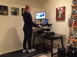 build a treadmill desk get fit while you work