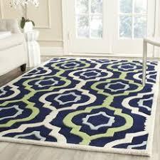 Shop For Area Rugs Safavieh Handmade Blossom Green Multi Wool Rug 8 U0027 X 10 U0027 By