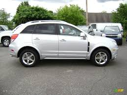 silver ice metallic 2012 chevrolet captiva sport lt exterior photo