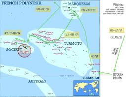 French Polynesia Map We U0027re Crossing The Pacific Sailing Green Coconut Run