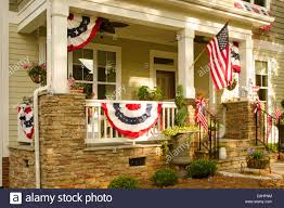 Front Porch Flag Pole House American Flag Porch Stock Photos U0026 House American Flag Porch