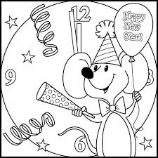 happy 2017 coloring pages happy greeting images