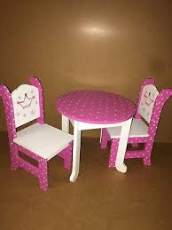 american doll dining table american doll baking table and accessories 45 00 picclick
