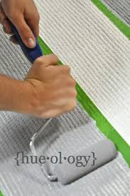 Painting An Outdoor Rug How To Use Chalk Paint Decorative Paint By Sloan And Stripe