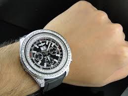diamond bentley breitling custom breitling bentley 6 75 diamond watch 11 ct