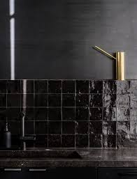 moroccan tile kitchen backsplash kitchen of the week a study in black by designer nicole hollis