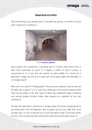 attic and basement construction tips for a safer home