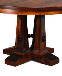 Dining Room Round Tables Vienna Round Dining Table Amish Direct Furniture