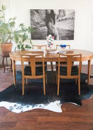 house tour an eclectic dutch canal house apartment therapy similar malone contemporary walnut wood 5pc dining room set