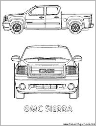 free coloring pages of truck 4174 bestofcoloring com