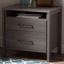 night stand south shore gravity 2 drawer nightstand reviews wayfair