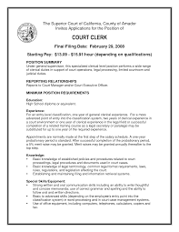 Sample Resume For Clerk by Download Legal Clerk Sample Resume Haadyaooverbayresort Com